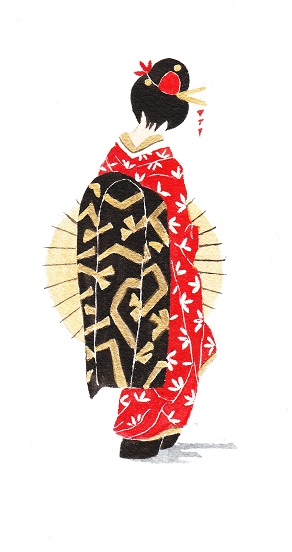 Geisha 1 noire. Rjpg